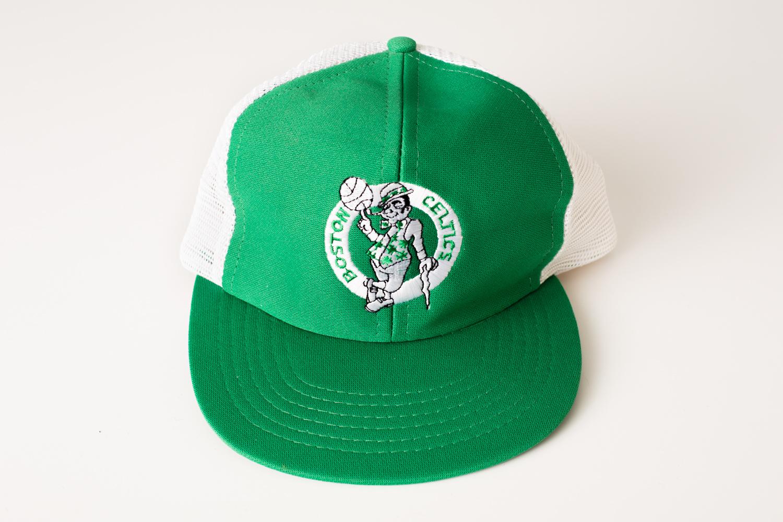 Boston Celtics Snapback Trucker Hat