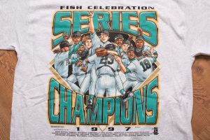 1997 Florida Marlins Champs T-Shirt