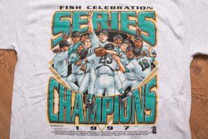1997 Florida Marlins Champs T-Shirt