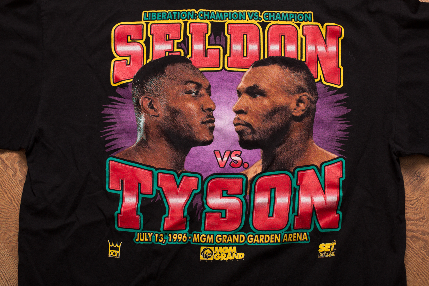 1996 Seldon vs Tyson Shirt