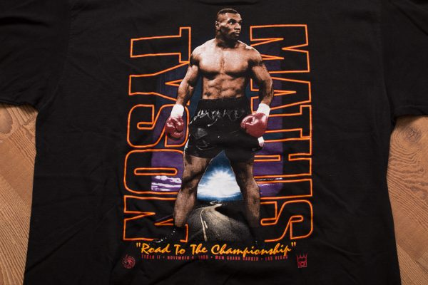1995 Tyson vs Mathis Boxing Fight T-Shirt
