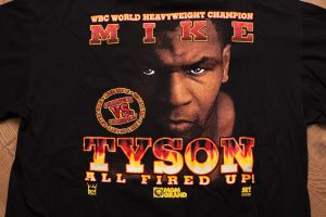 1996 Mike Tyson All Fired Up T-Shirt
