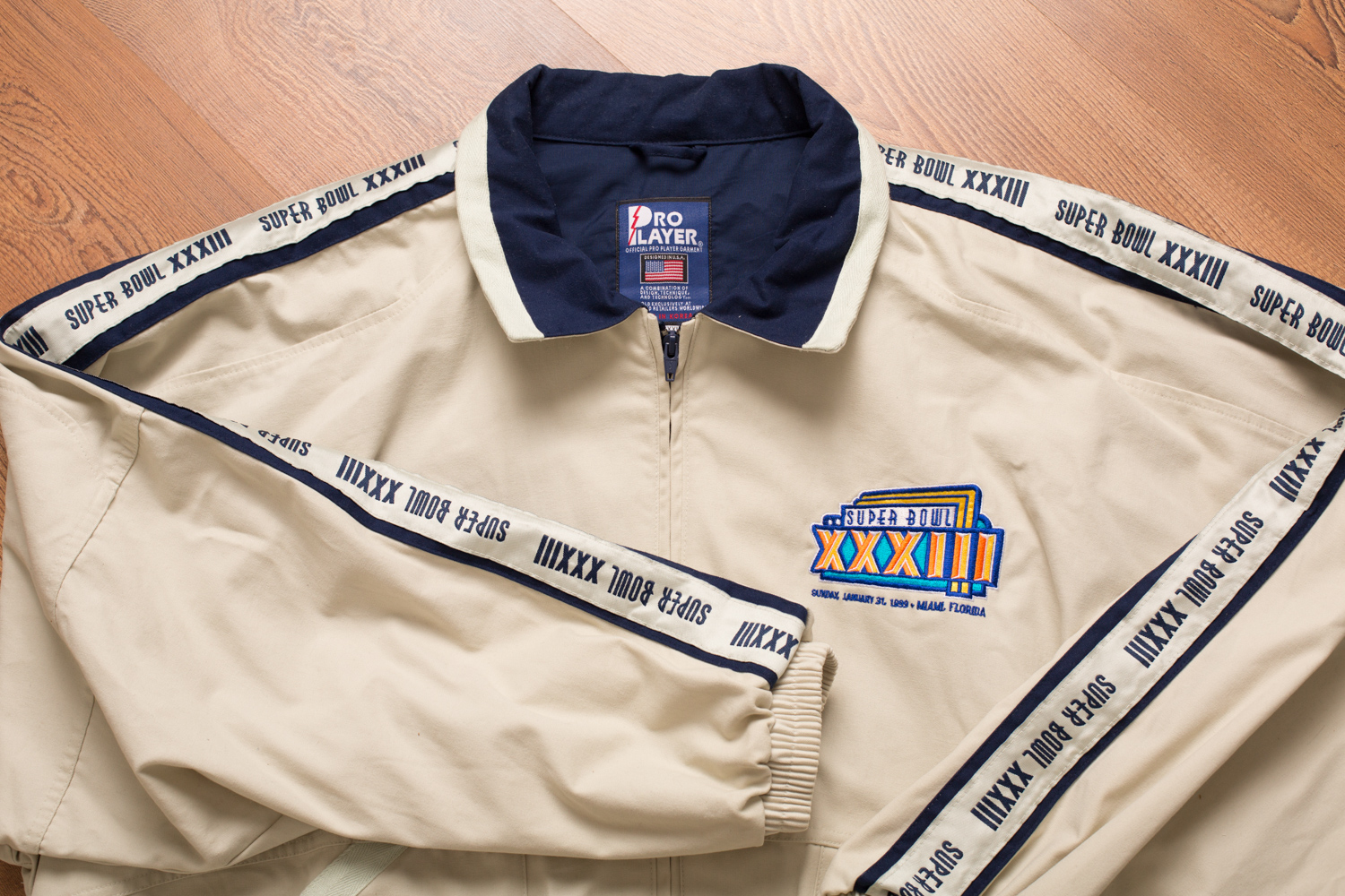 NFL Super Bowl XXXIII Jacket