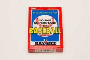 1986 Kay Bee Young Superstars Set
