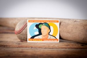 1960 Topps Al Kaline Baseball Card