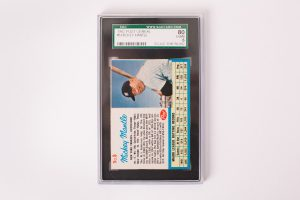 1962 Post Mickey Mantle Card