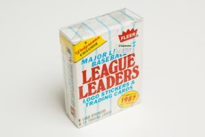 1987 Fleer MLB League Leaders Set