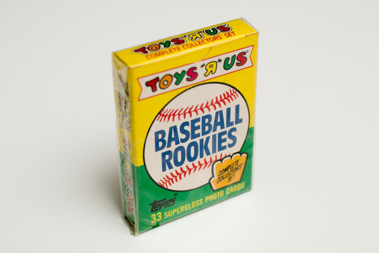 1989 Toys R Us Rookies Set