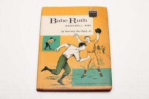 1959 Babe Ruth Baseball Boy Book