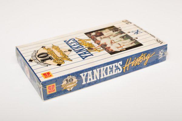 1987 NY Yankees History VHS