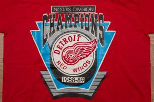 Detroit Red Wings 1989 Champs Shirt