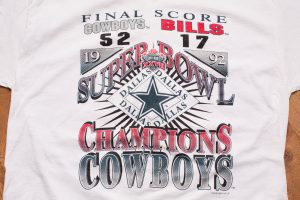 Dallas Cowboys Super Bowl XXVII Champs
