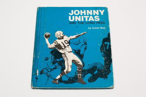 1972 Johnny Unitas and the Long Pass Book