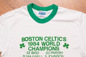 1984 Boston Celtics Ringer T-Shirt