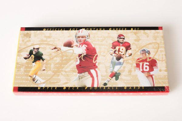 Joe Montana Upper Deck Career Set