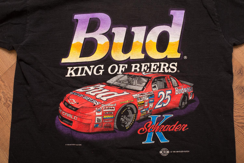 1995 Ken Schrader Bud T-Shirt