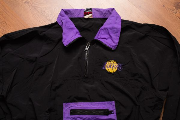 90s LA Lakers Logo Jacket