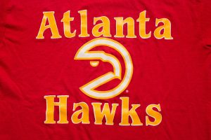 Vintage Atlanta Hawks T-Shirt, 1980s