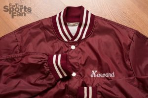 Vintage 80s Harvard Ringer Varsity Jacket