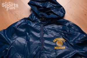 Vintage University of Michigan Rain Jacket