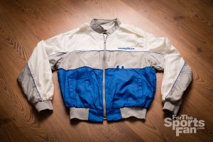 Vintage 80s Goodyear Racing Pla-Jac Jacket