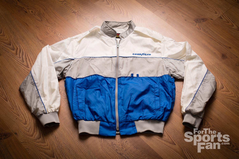 Vintage 80s Goodyear Racing Pla-Jac Jacket