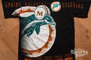 Vintage Miami Dolphins NFL on Fox T-Shirt