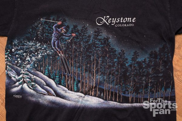 Vintage 90s Keystone Colorado Skiing T-Shirt