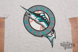 Vintage Florida Marlins Logo T-Shirt