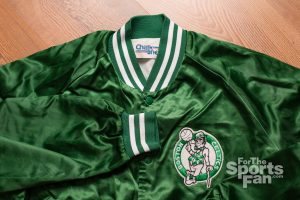 Vintage Boston Celtics Jacket, Chalk Line