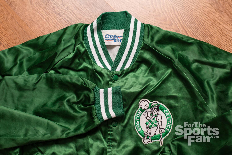 Vintage Boston Celtics Jacket, Chalk Line