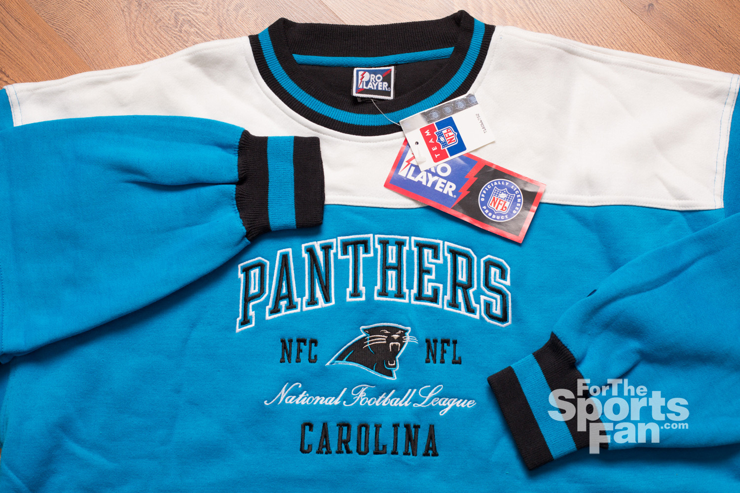 Carolina Panthers Sweatshirt, Vintage 1997, New with Tags