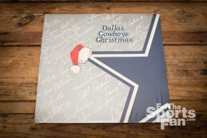 Dallas Cowboys Christmas LP Record Album