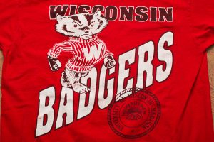 Wisconsin Badgers T-Shirt, Vintage 90s