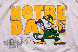 Notre Dame T-Shirt, Fighting Irish, Vintage 90s