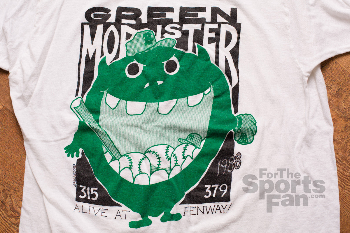 1988 Green Monster Fenway Park T-Shirt, Boston Red Sox