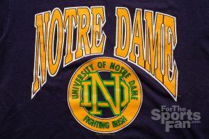 Notre Dame University T-Shirt, Vintage 80s-90s