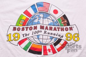 100th Boston Marathon T-Shirt, 1996