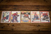 Patrick Roy Hockey Cards, Vintage 90s