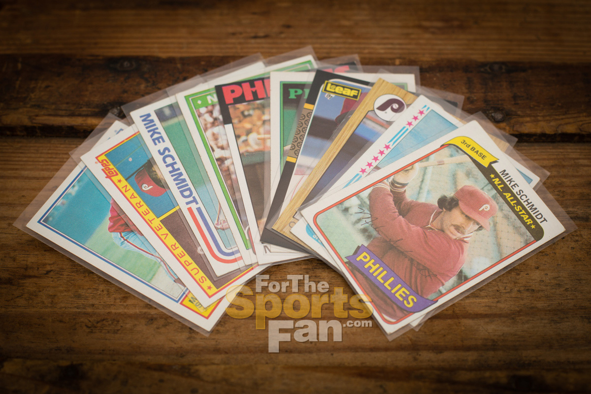 Mike Schmidt Baseball Cards, Vintage 80s