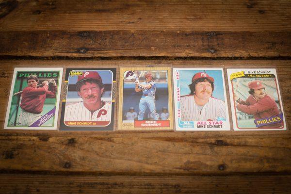 Mike Schmidt Baseball Cards, Vintage 80s