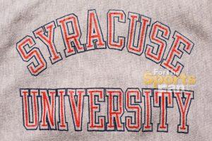 Syracuse University Champion Hoodie Sweatshirt, Vintage 80s